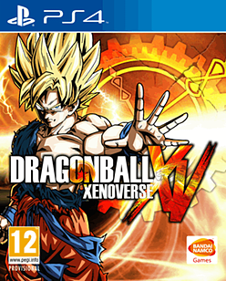Dragon Ball Xenoverse PlayStation 4 Cover Art