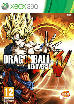 Dragon Ball Xenoverse Xbox 360 Cover Art