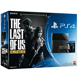 PlayStation 4 with The Last of Us Remastered Day One Edition PlayStation 4
