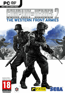 Company of Heroes 2: The Western Front Armies PC Games Cover Art