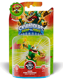Jade Fire Kraken - Skylanders SWAP Force - Only at GAME Toys and Gadgets