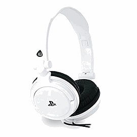 4Gamers Official Stereo Gaming Headset For PS4 and Vita - White Accessories