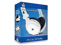 4Gamers Official Stereo Gaming Headset For PS4 and Vita - White screen shot 1