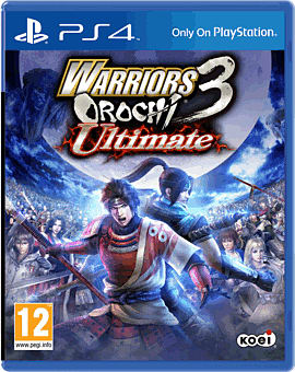 Warriors Orochi 3 Ultimate PlayStation 4 Cover Art