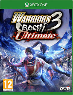 Warriors Orochi 3 Ultimate Xbox One Cover Art