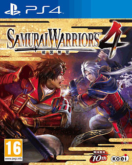 Samurai Warriors 4 PlayStation 4 Cover Art