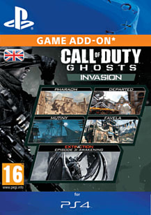 Call of Duty: Ghosts - Invasion PlayStation Network Cover Art