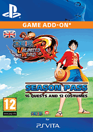 One Piece Unlimited World Red - Season Pass PlayStation Network Cover Art