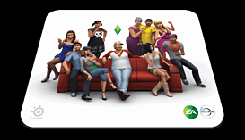 SteelSeries The Sims 4 QcK Gaming Surface screen shot 1