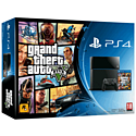 PlayStation 4 with Grand Theft Auto V and The Last of Us Remastered download PlayStation-4