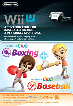 Wii Sports Club - Baseball and Boxing eShop