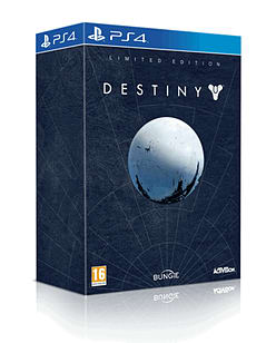 Destiny Limited Edition PlayStation 4 Cover Art