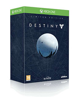 Destiny Limited Edition Xbox One Cover Art