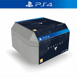 Destiny Ghost Edition - Only at GAME PlayStation 4 Cover Art