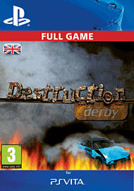 Destruction Derby PlayStation Network Cover Art