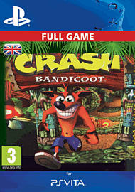 Crash Bandicoot PlayStation Network Cover Art