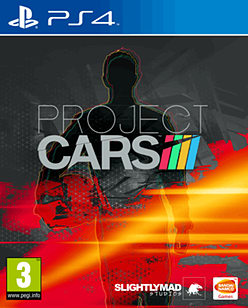 Project CARS PlayStation 4 Cover Art