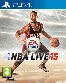 NBA LIVE 15 PlayStation 4 Cover Art