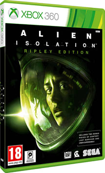 Alien: Isolation Ripley Edition - Only at GAME Xbox 360 Cover Art