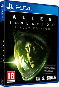 Alien: Isolation Ripley Edition - Only at GAME PlayStation 4 Cover Art