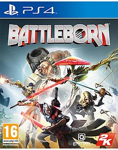 Battleborn PlayStation 4 Cover Art