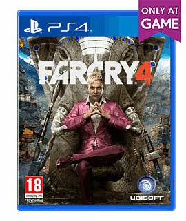 Far Cry 4: Limited Edition with Yak Farm Pack Mission - Only at GAME PlayStation 4