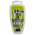 SkullCandy Jib Earbuds - Grey/Lime Electronics