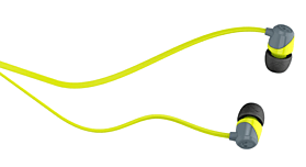 Skullcandy Jib Earbuds - Colour: Grey/Lime screen shot 1