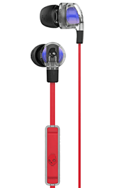 SkullCandy Smokin' Buds 2.0 With In-Line Mic - Spaced Out/Clear/Black Electronics