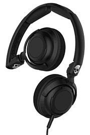 SkullCandy Lowrider Over-Ear Headphones With In-Line Mic - Black Electronics