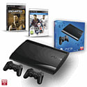 PS3 500GB with Uncharted 3 GOTY, Official Sony Dualshock Controller and FIFA 14 PlayStation-3