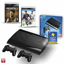 PS3 500GB with Uncharted 3 GOTY, Official Sony Dualshock Controller, FIFA 14 and PlayStation Plus 12 Month Membership PlayStation-3