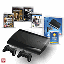 PS3 500GB with Uncharted 3 GOTY, Official Sony Dualshock Controller, Grand Theft Auto V, FIFA 14 and PS+ 12 Month Membership PlayStation-3