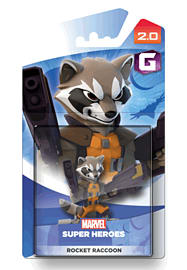 Rocket Raccoon - Disney INFINITY 2.0 Character Toys and Gadgets