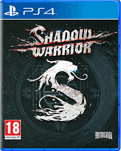 Shadow Warrior PlayStation 4 Cover Art