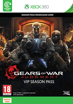 Gears Of War Judgment VIP Season Pass Xbox Live