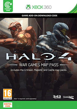 Halo 4: War Games Map Pass Xbox Live