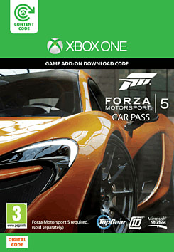 Forza Motorsport 5: Car Pass Xbox Live Cover Art