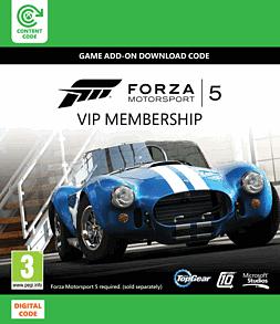 Forza Motorsport 5: VIP Membership Xbox Live Cover Art
