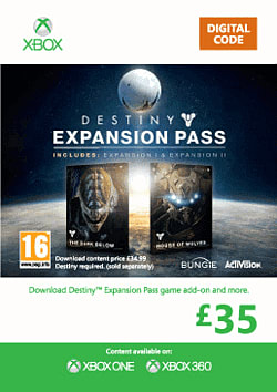 Destiny Expansion Pass Xbox Live