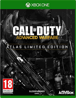 Call of Duty: Advanced Warfare Atlas Limited Edition Xbox One Cover Art