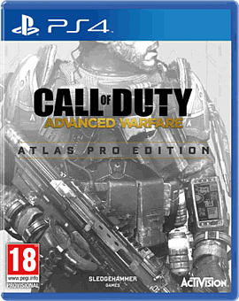 Call of Duty: Advanced Warfare Atlas Pro Edition PlayStation 4 Cover Art