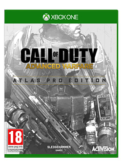 Call of Duty: Advanced Warfare Atlas Pro Edition - Only at GAME - includes Day Zero Early Access Xbox One Cover Art