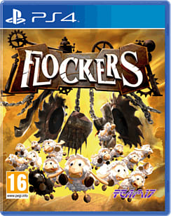 Flockers PlayStation 4 Cover Art