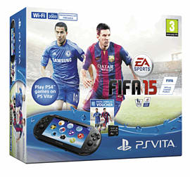 PlayStation Vita Slim FIFA 15 Console Pack PS-Vita