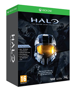 Halo: The Master Chief Collection Limited Edition - Only at GAME Xbox-One Cover Art