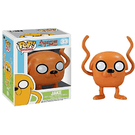 Adventure Time Jake Pop Vinyl Figure Toys and Gadgets