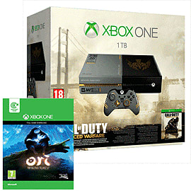 Call of Duty Advanced Warfare: Limited Edition Xbox One Console - Only at GAME Xbox-One