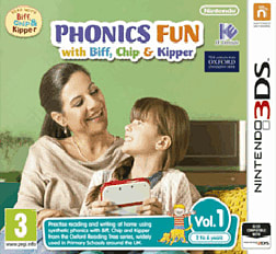 Phonics Fun with Biff, Chip and Kipper Vol 1 3DS