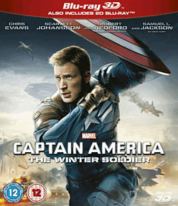 Captain America: The Winter Soldier 3D 3D Blu-ray
